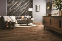 Wood on Walls /  The emerging trend of wood on walls is a good way to balance refined and rustic looks. Whether you're looking to create an interesting accent wall or define a whole new space, putting wood on walls gives you the chance to add depth and character to your home. Wood on walls is a perfect accent to any home.