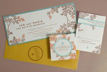 Prints and Print Design / Gorgeous invitations, calling cards, greeting cards, and prints.