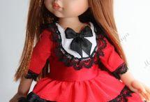 Шью одежду для кукол Paola Reina. / В комплект входит: платье, гольфы, аксессуар на голову. Цена: 650-700 ₽