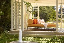 Garden pergolas & other garden ideas