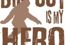 Bigfoot  / Is there really a Bigfoot? Well even if there isn't it's still a cool thought!