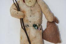 figurine din bumbac
