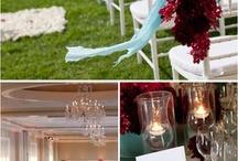 bodas el color burdeos
