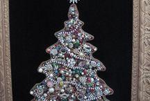 Christmas Jewellery Trees