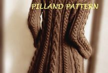 Pilland  Coat knitted