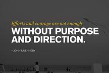 'Purpose'ful quotes