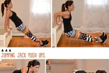 Exercises / Exercises for legs, arms, back...
