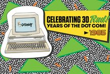 30 Years of .COM / by GoDaddy