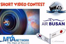MTANetwork / AirBusan Short Video Contest / MTA Network / Air Busan Short Video Contest  First Prize: Ticket to Japan !  Second Prize: Ticket to South Korea !