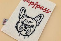 Hunde, französische Bulldogge