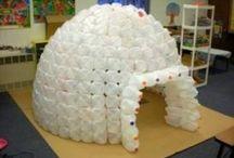 Winter On The North Pole / Kinderfeest in wintertijd