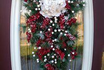 ghirlande verticale Natale