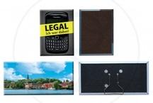 Magneti / Magneti personalizzati in digitale. Disponibili in vari formati.
