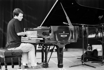 The Great Jazz Pianists / A visual representation of the more legendary jazz pianists to date.