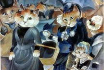 Art Parody: Pierre-Auguste Renoir / by Michelle McGrath