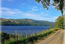 Loch Tummel / Loch Tummel is a beautiful dark Scottish Loch by Pitlochry, Perthshire, Scotland
