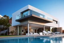 Luxury houses / Architecture of luxury houses