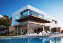 Luxury houses / Architecture of luxury houses