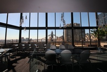 Prime at the Bentley / Two-floor, rooftop equipped penthouse kosher restaurant located at the Bentley Hotel