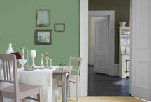 Color of the Month: Hemlock / See how Pantone's pastel green can renew your rooms, with inspiring examples of bedrooms, dining spaces, baths and more. / by This Old House