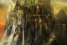 Fantasy castles et dungeons / by Vincent Bezençon
