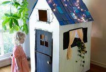 habitaciones para niñas vintage