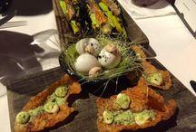 Dining in Sydney Australia / Fine dinning at Flying Fish, an award winning restaurant on a wharf in downtown Sydney