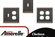 Wall Switch Plates / Find a selection of decorative and standard wall switch plates in a variety of finishes. From traditional bronze to a modern nickel, GreyDock has you covered.