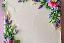 Кремовые торты