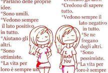 persone positive e negative