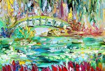 peintures, aquarelles