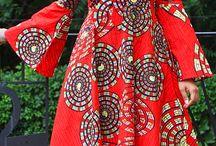 Vestidos com panos africano