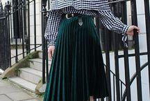 Fashion: Checks, Plaid, Gingham