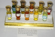 Vintage Bath Oils - Bain De Huile / Relax! Relate! Release! Make the most out of bath night with vintage fragrance bath oils - http://www.quirkyfinds.com