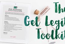 Paper + Spark Products / Bookkeeping and financial spreadsheets and resources for Creative Business Owners such as Etsy shop owners, handmade sellers and makers.