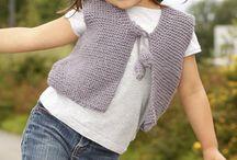 Vest / Childrn's knit