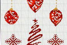 Vianočne vyšívanie