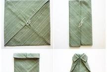 pliage pour serviette