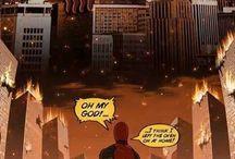 Comics and Superheroes / Illustrations that fit the general theme of comic books and superheroes.