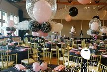 First Birthday Party Balloon Decor / Your child's first birthday is a big event in your life. Why not make it memorable with balloon decor that will delight both the children and parents!  Want more? Visit www.balloonsbytommy.com