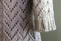lace knitting...