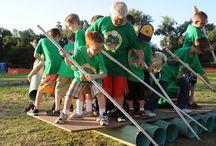 Erlebnispädagogik/Teamarbeit