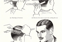 Vintage hair men Style