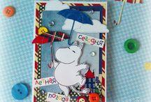 Cardmaking: Открытки (скрапбукинг) / Сделано с использованием продукции C.H.E.A.P.-Art