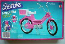 Barbie lapsuuden lelut