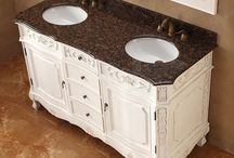Bathroom Vanities / Bathroom vanities are a great focal piece for your bathroom. They provide storage, excellent task area, and style. There are a ton of style to choose from, and we have selected some excellent ones for you to consider putting in your bathroom.