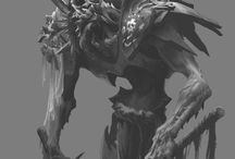Fantasy Art - Horror / Aberrations, Undeads, Outsiders and horror