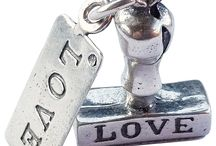 Love & Valentine / Sweetheart and Valentine charms  ★ silverstarcharms.com