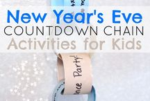 New Year Activities / Activities to bring in the new year.