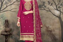 2648 Aanaya 34000 Heavy work straight salwar suit